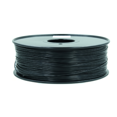 Cina Customized High Rigidity ABS Konduktif 1.75MM / 3.0MM 3D Printing Filament Strip Plastik Hitam pemasok