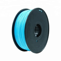 Cina Fluorescent Orange HIPS 3d Printer Filament 1.75mm Untuk Makerbot No Odor pemasok