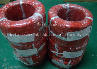 Cina Large Diameter Rigid PP Plastic Hard Tubes Red / Yellow For Electrical Wire pemasok