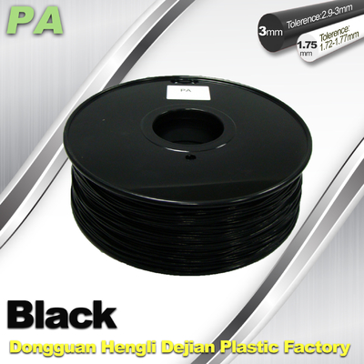 3D Printer Filament 3mm 1.75mm Black Nylon Filament PA Filament