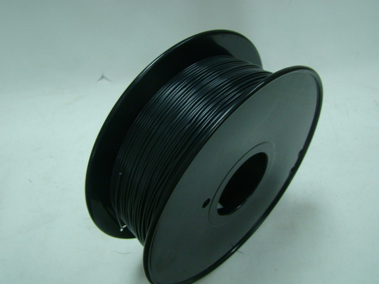 Hitam 1.75mm 3D Printer ABS Flame Retardant Filament Plastic Strip Untuk Makerbot