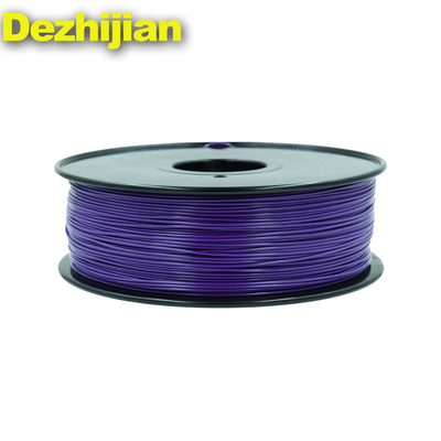 Daur Ulang 1.75mm ABS 3d Filamen Printer 1kg / 2.2lb Warna Disesuaikan