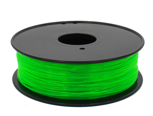 12 Warna PETG 3d Printer Filament 3mm Baik Perlawanan Thermal MSDS