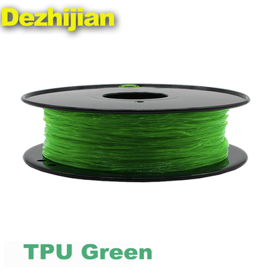Filamen Printer 3D TPU Fleksibel 1.75 / 3.0 mm Untuk Printer 3D
