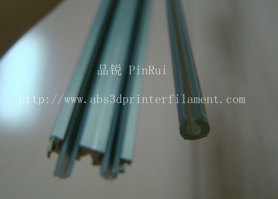 ABS Hard Plastic Tubes For Light Rail Track Tape PC With Heat Resistant / Flame Retardant